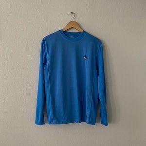 Blue Guy Harvey Long Sleeve